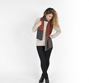 Irregular Stripes Scarf