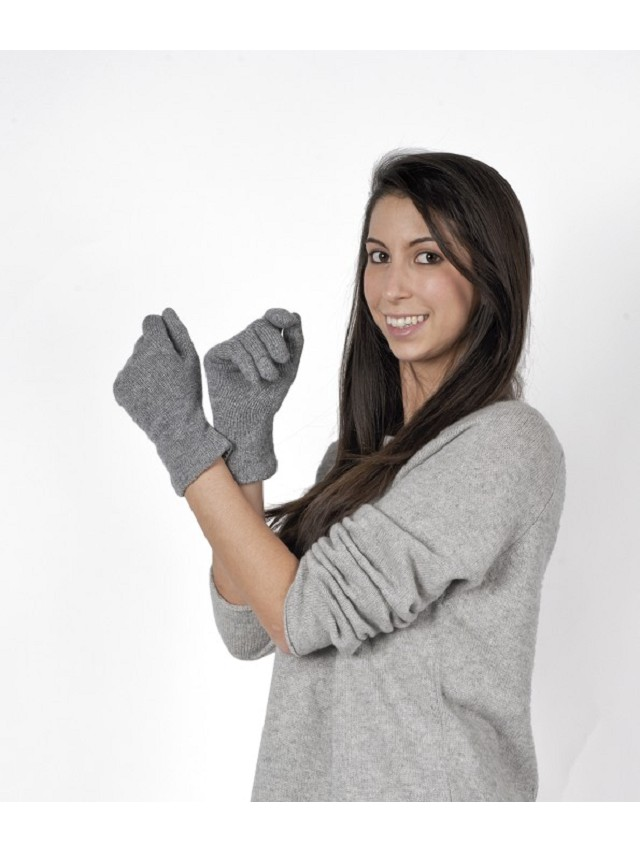 Scalloped Glove Women